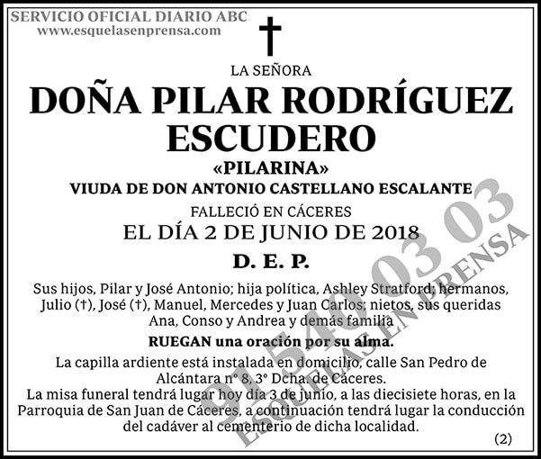Pilar Rodríguez Escudero